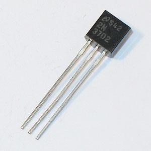 transistor 2n3702 3702 25 v to-92 nuevos