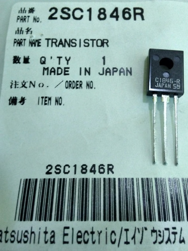 transistor  2sc1846r plato technics sl-1200mk2 sl-1210mk2