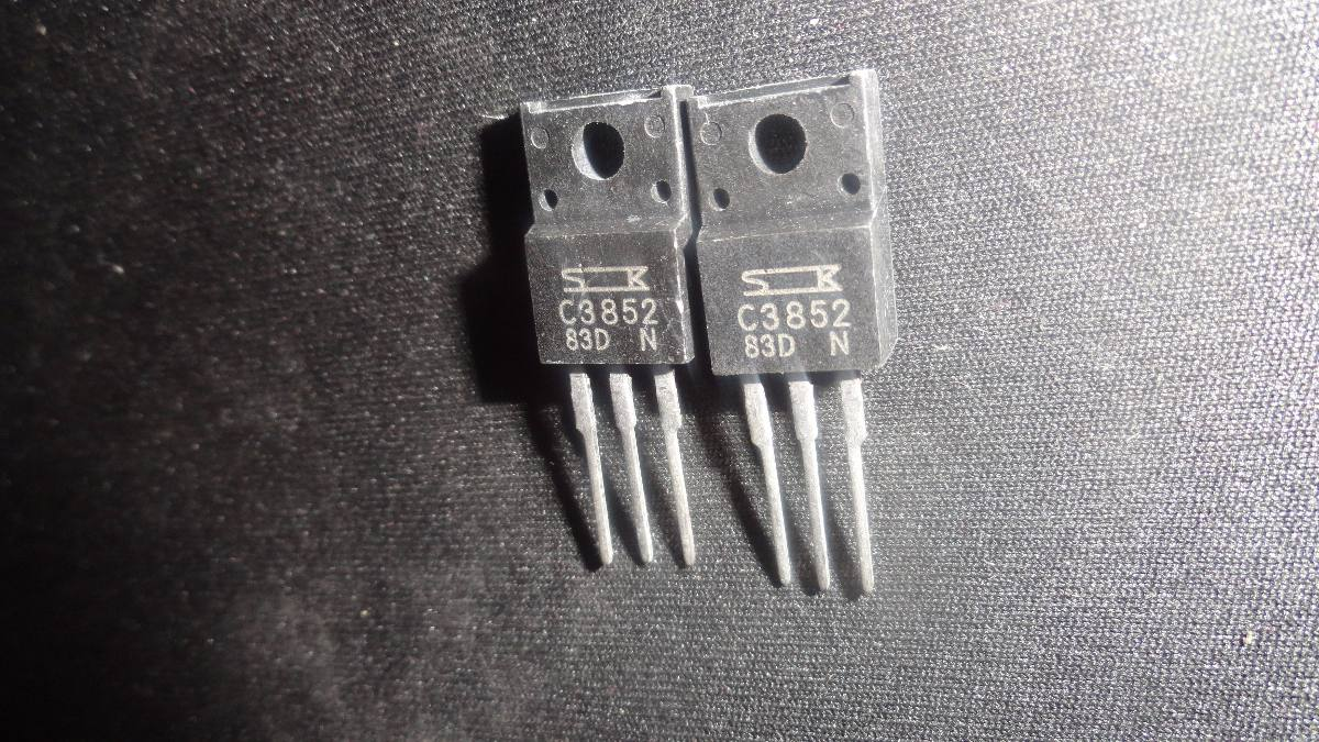 Electronic Components & Semiconductors C3852 TRANSISTOR 2SC3852-2SC 3852