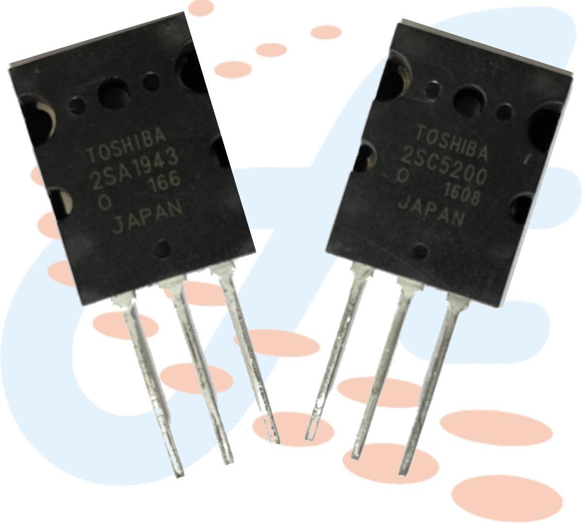 Transistor 2sc5200 Y 2sa1943 Toshiba Originales Por Unidad Bs 469 And High Fidelity Power Cargando Zoom