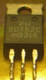 transistor   bdt62