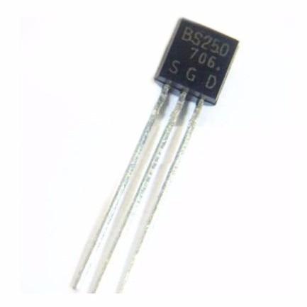 transistor bs250 bs 250 pbs250 bs250fta to92 nuevos