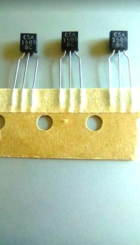 transistor csa 1585 bc pnp 10 unidades