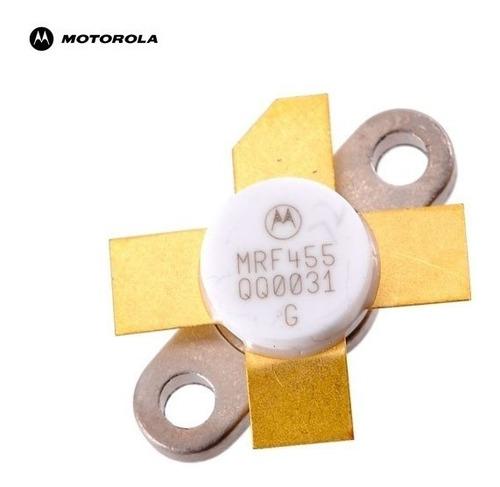 transistor de potência mrf-455 motorola