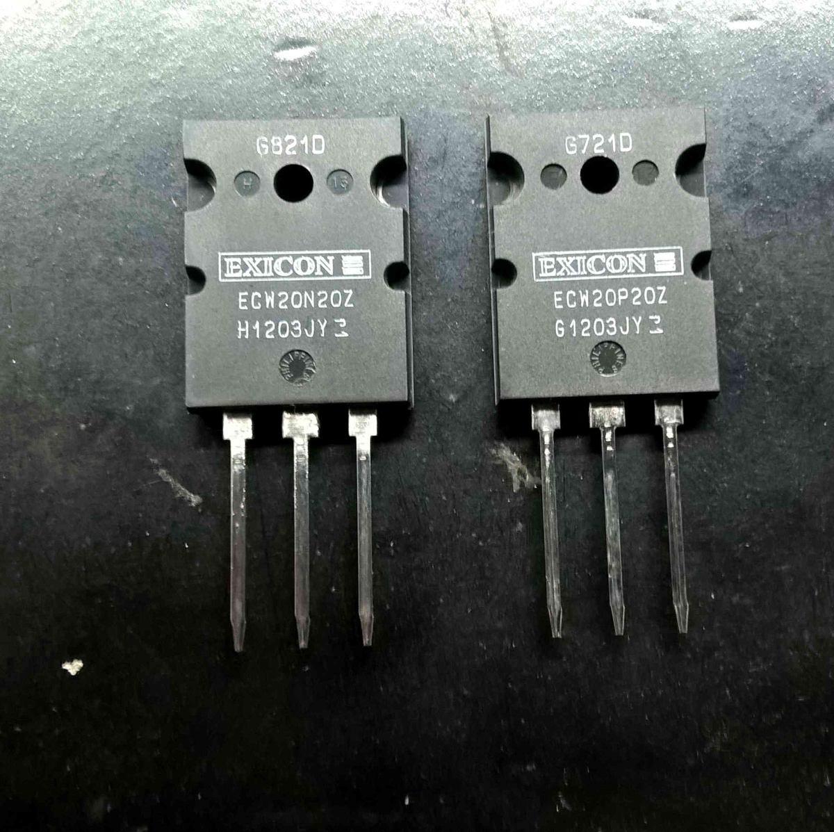 Transistor Lateral Mosfet Ecw20n20 2sk176 2sj56 Par Comp