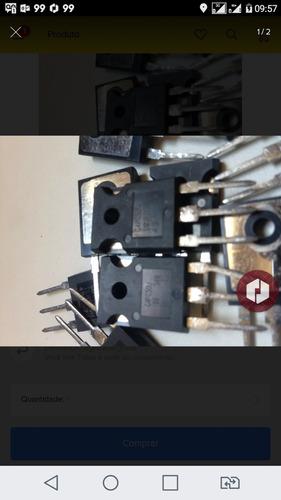 transistor mosfet alta potencia - g4pc50u 10 peças