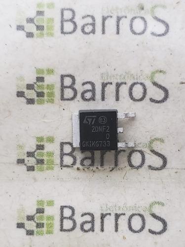 transistor mosfet std20nf20 20nf20 d20nf 200v 18a  lacrado