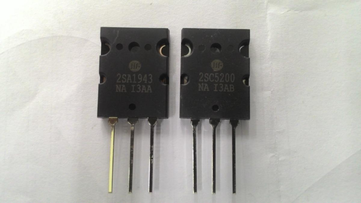 Transistor Par 2sa-1943 / 2sc-5200