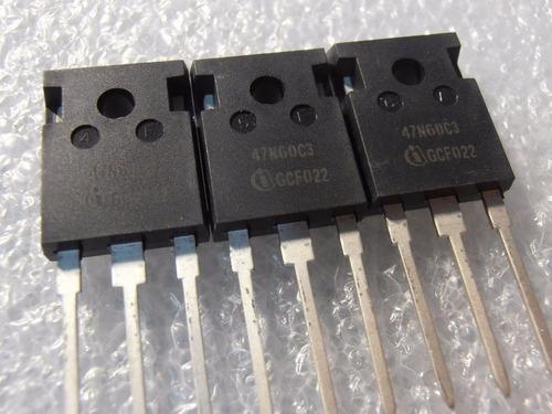 transistor spw47n60c3 47n60c3 to-247 47n60 precio por c/u