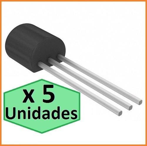 transistor to92 pnp 2n5401 x 5 unidades