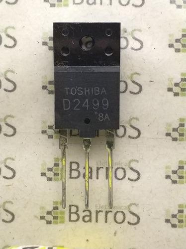 transistor toshiba d2499 - 2sd2499 - npn - 1500v - 6a - 50w