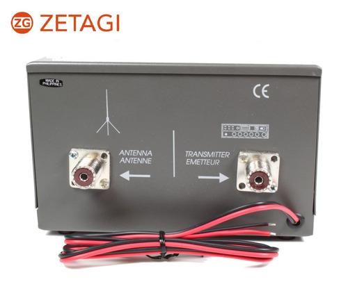 transmatch acoplador de antena hp1000 zetagi radioaficionado