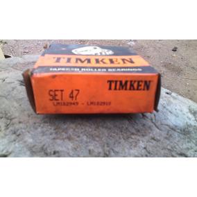 Rolinera Set 47 Timken Lm102949-lm102910 Usada
