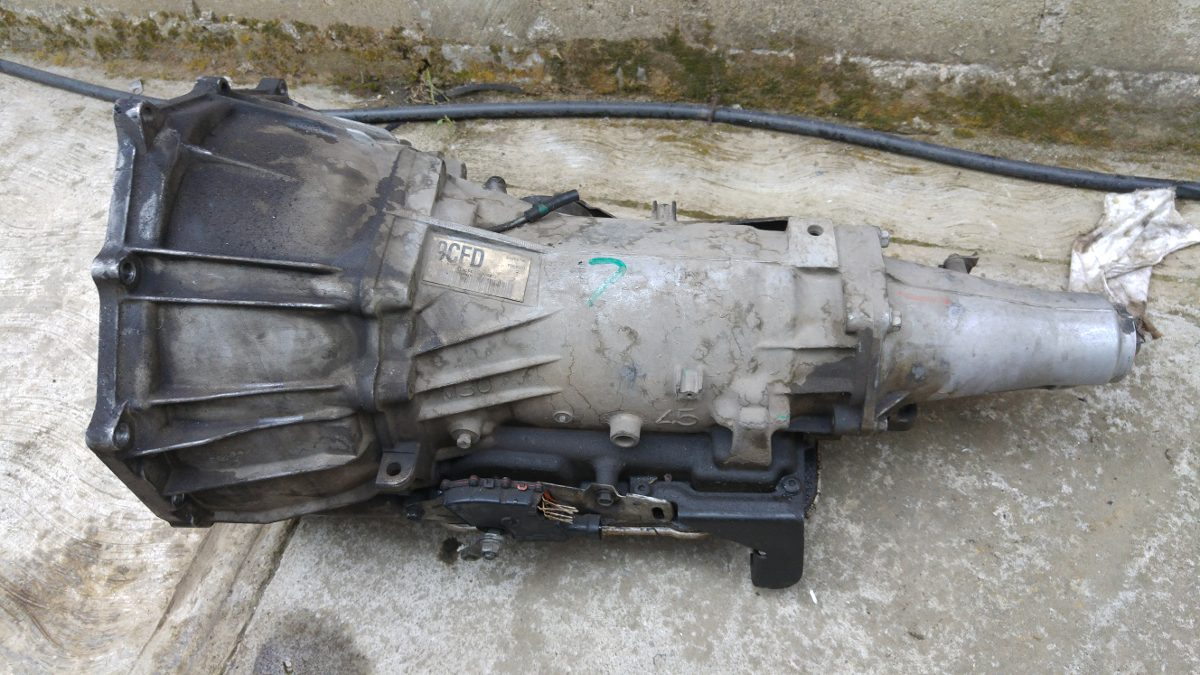 Transmisión Automática De Chevrolet Silverado Modelo 97 ...