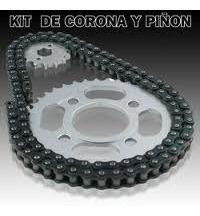 transmision corona piñon y cadena guerrero gmx 150 - 2r