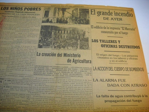 transmision mando supremo barros luco 1910. reedicion  mercu