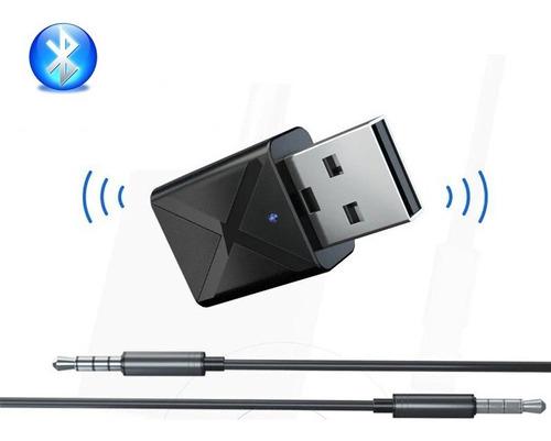 transmisor bluetooth 5.0 con conexion auxiliar para tv pc