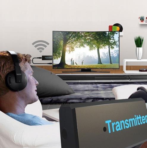 transmisor de audio bluetooth tv jack 3.5mm usb
