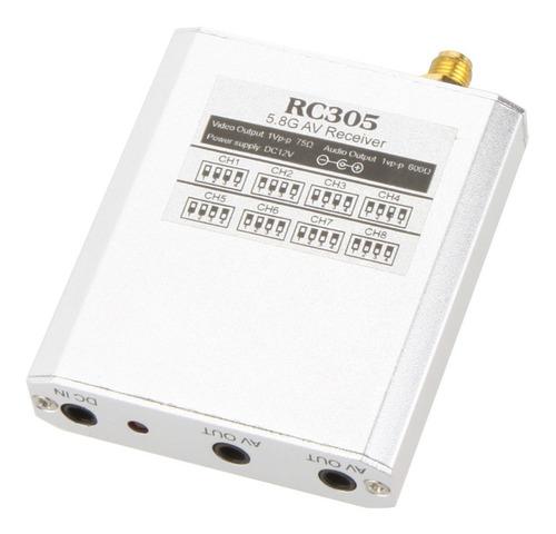 EU 200 m tel/éfono//dvd//reproductor Transmisi/ón de datos en tiempo real transmisor y receptor inal/ámbrico de audio y video 1 para todos Conjunto de transmisor AV inal/ámbrico PAL//NTSC de 5.8 GHz
