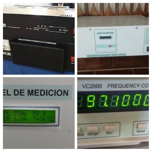 transmisor de fm m31, edinec,reparacion y mantenimiento