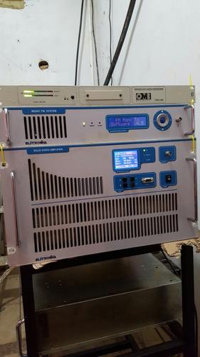 transmisor de radio fm 2. 5kw electrónica {4000}