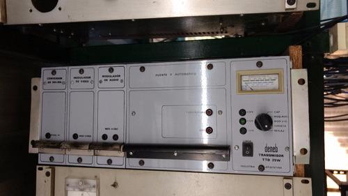 transmisor de television analogica  deneb telari  25 watts