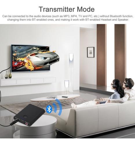 transmisor emisor / receptor bluetooth 4.0 2n1 recargable!
