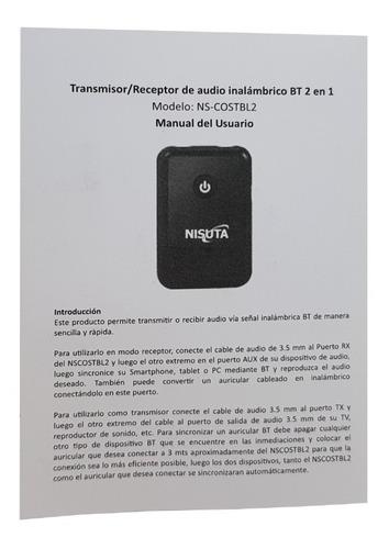 transmisor emisor receptor bluetooth audio smart tv v4.0