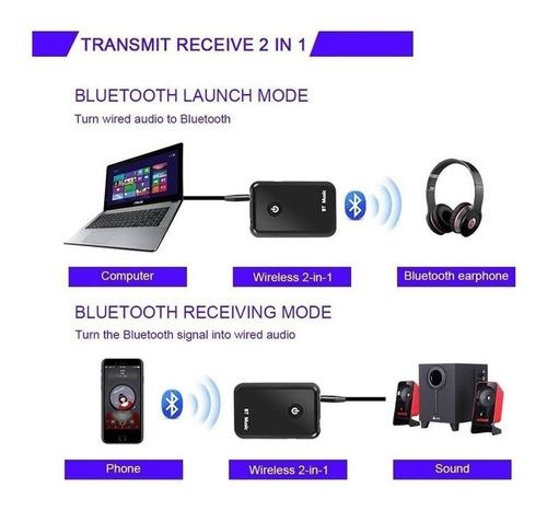 transmisor emisor  receptor bluetooth ypf-03 auriculares tv