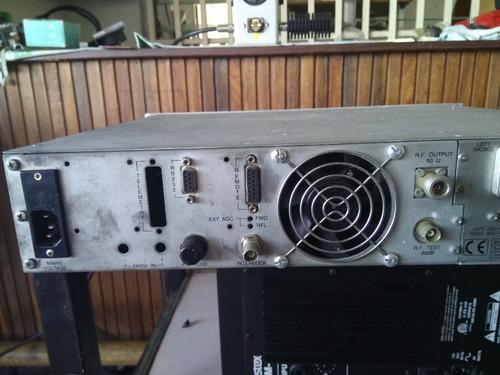 transmisor / excitador fm rvr ptx-30 lcd 30 w