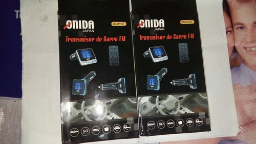 transmisor fm 4 en 1 mp3 usb con control iphone ipod mp4 sd
