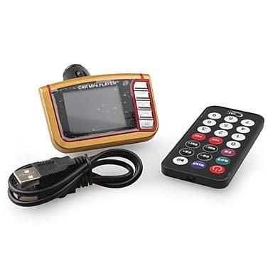transmisor fm 5 en 1 para carro mp3 con 4gb de memoria