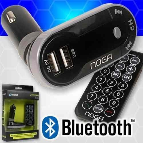 transmisor fm bluetooth auto manos libres sd usb reproductor