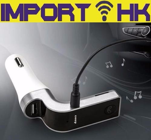 transmisor fm bluetooth mp3 usb cargador de celular tablet