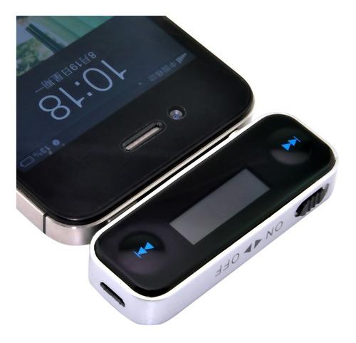 transmisor fm bluetooth para carro t-8 + envio gratis