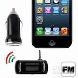 transmisor fm cargador iphone ipod iphone con auxiliar