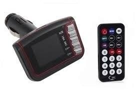 transmisor fm con pantalla radio carro usb