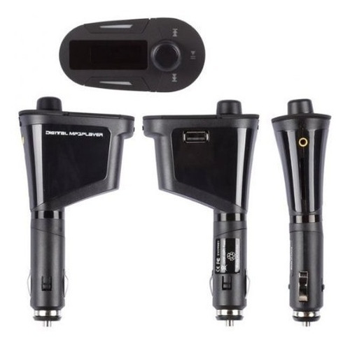 transmisor fm inalambrico amzdeal coche kit mp3 reproductor