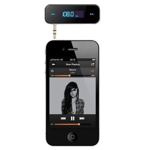 transmisor fm iphone, galaxy, ipad tablets, mp3 laptops, etc