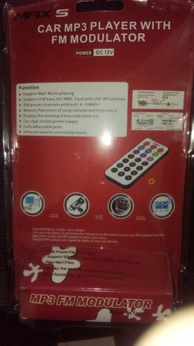 transmisor fm kenwood max 5 nuevo sellado tienda fisica