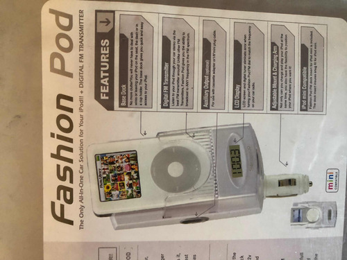 transmisor fm para ipod