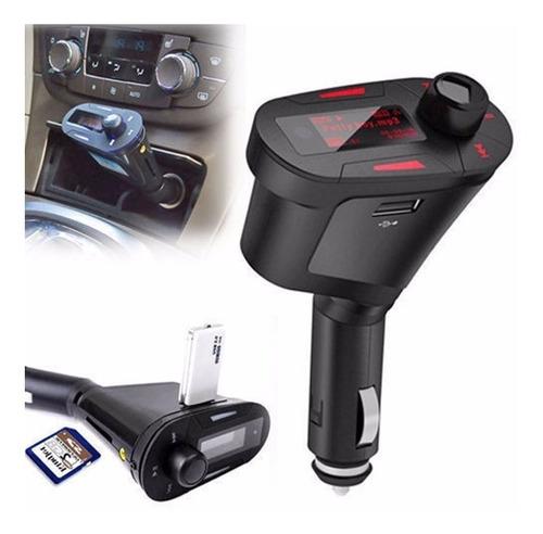 transmisor fm para radio  carro control remoto (usb, sd