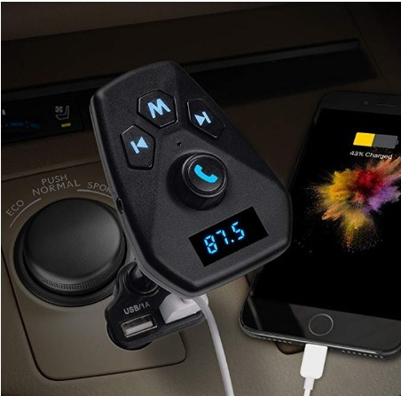 transmisor inalámbrico bluetooth para coche