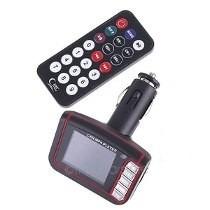 transmisor modulador radio carro mp3 usb fm promocion