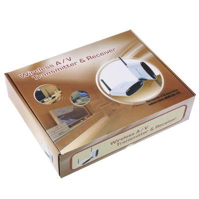 transmisor receptor inalambrico audio y video 5.8ghz 200mts