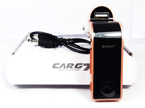 transmisor reproductor cenicero carro bluetooth usb sd aux
