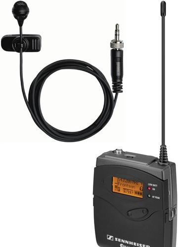 transmisor sennheiser sk 100 g3 range b + mic lavalier me2