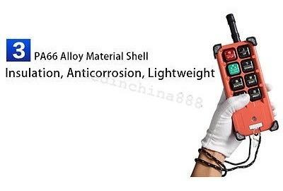 transmisor y receptor polipasto grúa radio control remoto