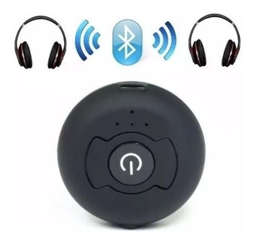 transmissor bluetooth multiponto stereo conecta c/ 2 fones