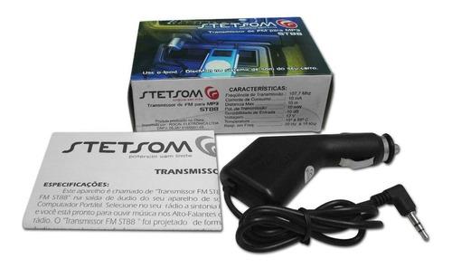 transmissor de fm para mp3 stetsom st88
